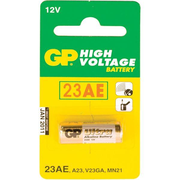 Pile Alcaline Haut Voltage Gp 23ab 12v Feu Vert