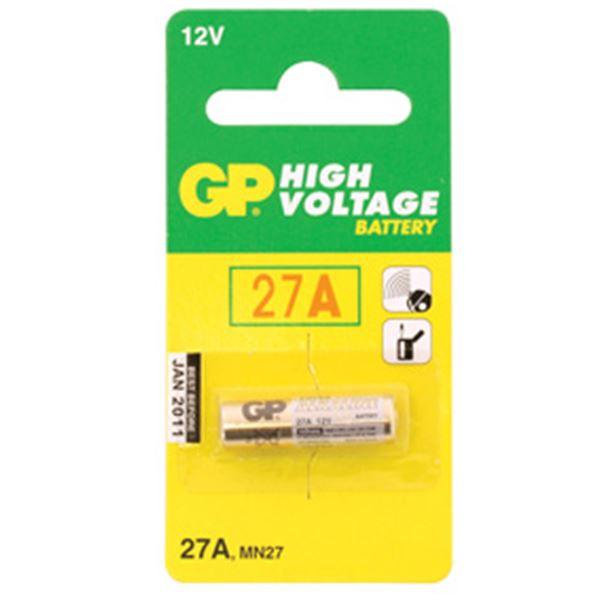 Pile Alcaline Haut Voltage Gp 27ab 12v Feu Vert