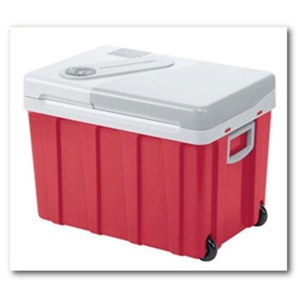glaci re lectrique 12 230v mobicool w40 rouge 40 litres feu vert. Black Bedroom Furniture Sets. Home Design Ideas