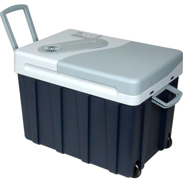 glaci re lectrique 12 230v mobicool w40 bleue 39 litres. Black Bedroom Furniture Sets. Home Design Ideas