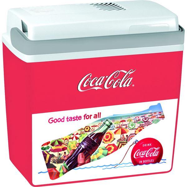 glaci re lectrique 12v 22l coca cola football cooler feu vert. Black Bedroom Furniture Sets. Home Design Ideas