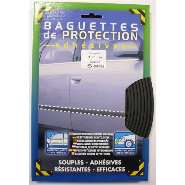baguette de protection adh sive cam l on noir 17mm x 5ml. Black Bedroom Furniture Sets. Home Design Ideas