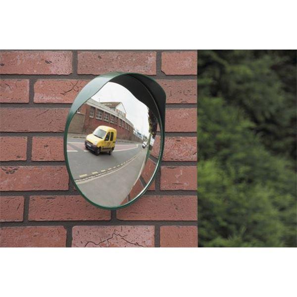miroir de sortie de voie mottez diam tre 30 cm feu vert