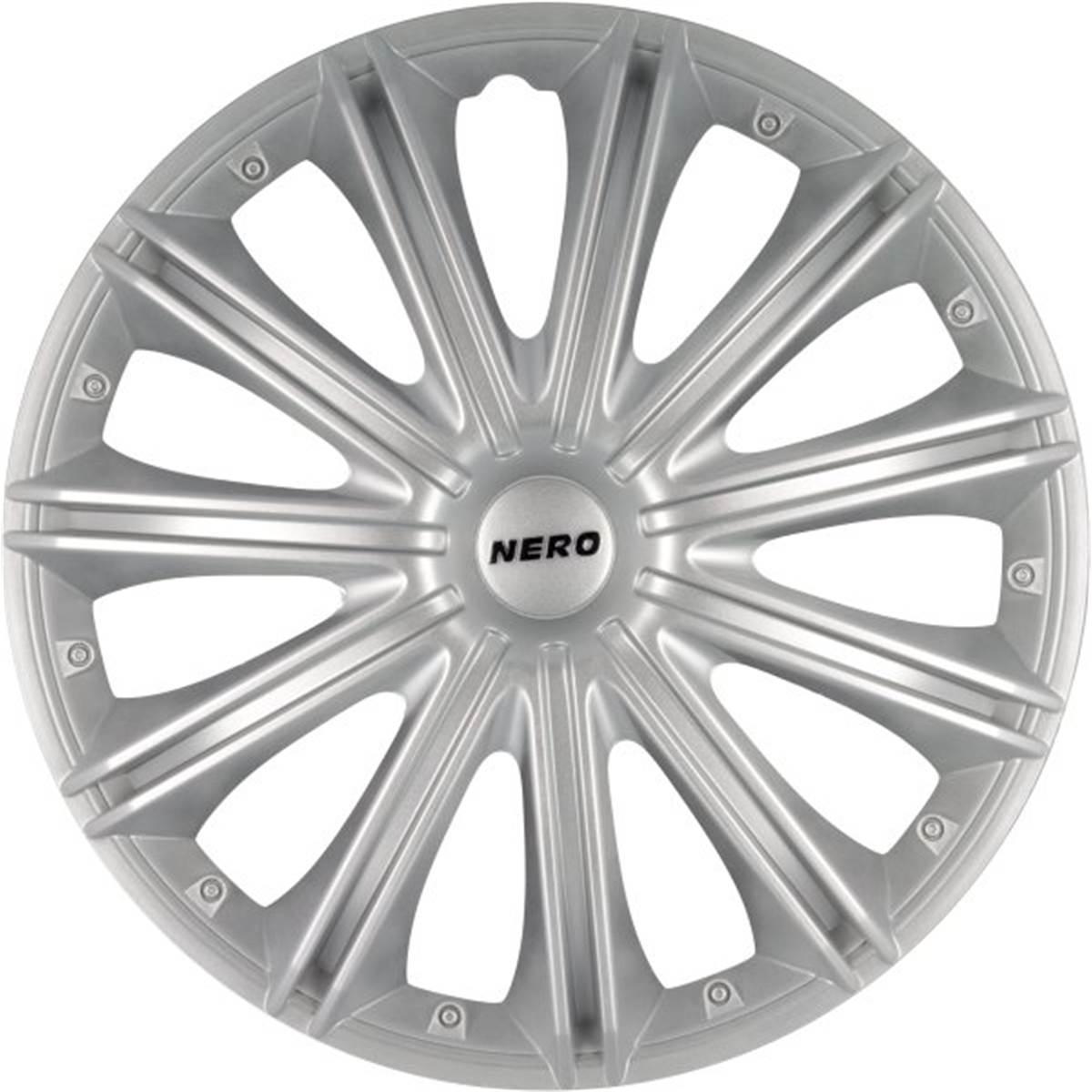 4 Enjoliveurs Nero pour roue de 13 pouces