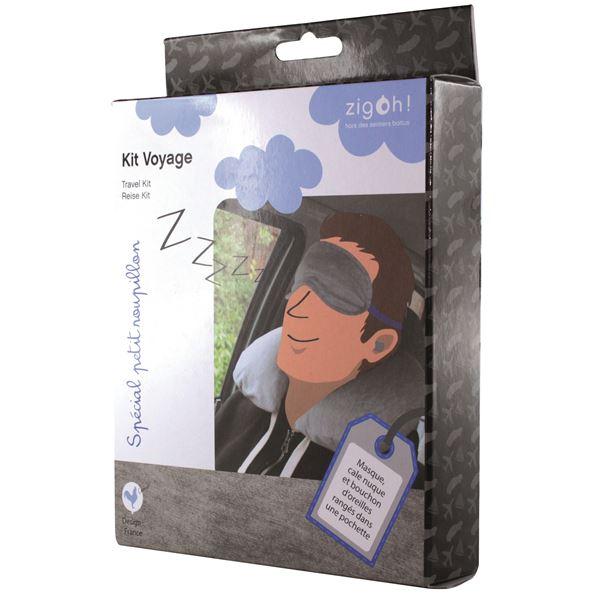 Kit de voyage confort homme feu vert - Kit voyage homme ...