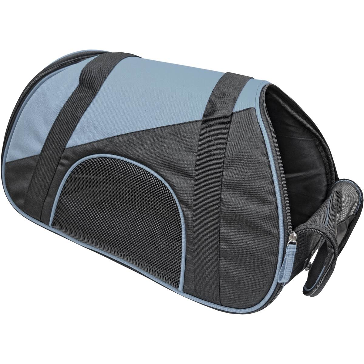 sac de transport pour chat chien gris et noir. Black Bedroom Furniture Sets. Home Design Ideas