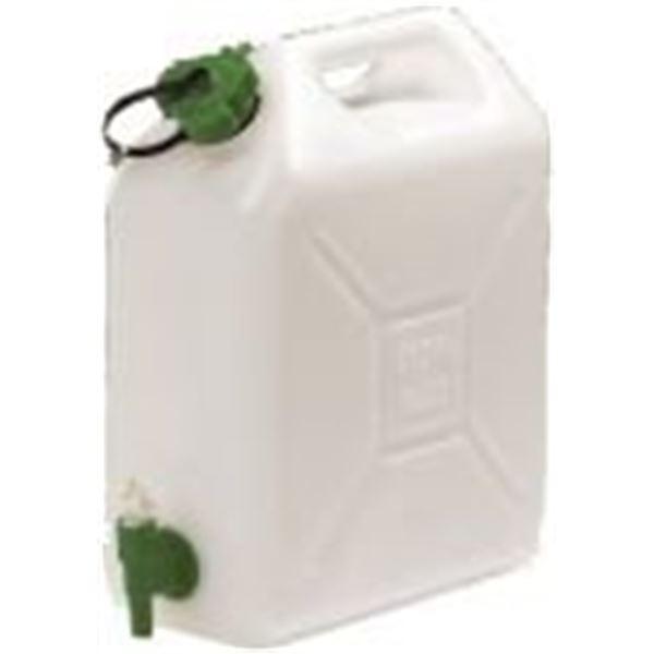 Jerrican alimentaire eda 20 litres avec robinet feu vert - Jerrican alimentaire 20l avec robinet ...