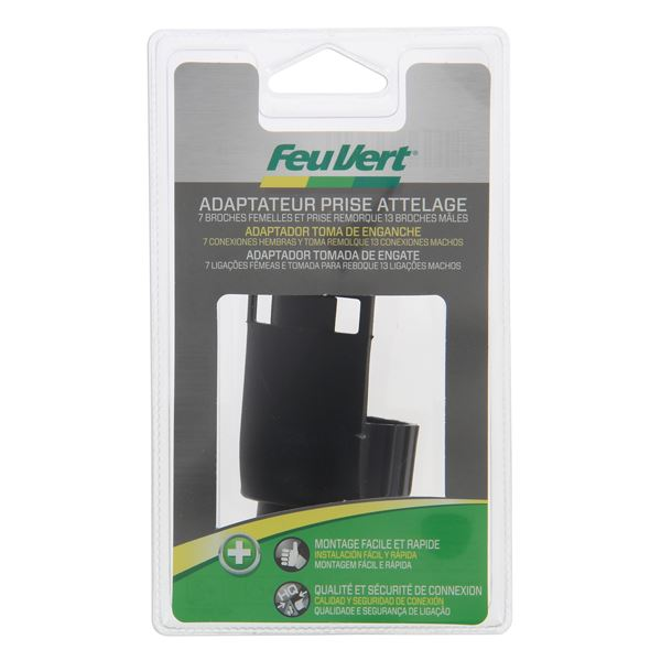 officiel matériaux de qualité supérieure États Unis Adaptateur attelage Feu Vert 7 broches en 13 broches - Feu Vert