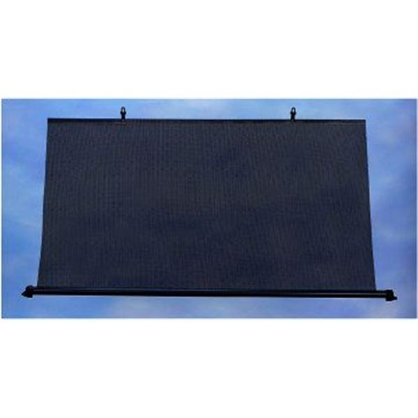rideau arri re enrouleur rectangulaire 110 cm feu vert. Black Bedroom Furniture Sets. Home Design Ideas