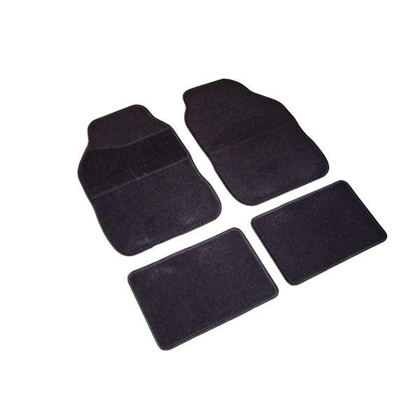 4 tapis moquette universels noir vogue feu vert. Black Bedroom Furniture Sets. Home Design Ideas