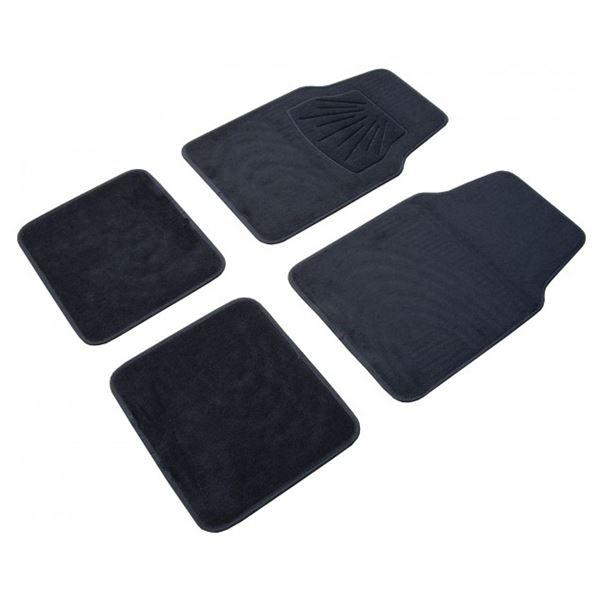 4 tapis r versibles pvc moquette universels custo auto feu vert. Black Bedroom Furniture Sets. Home Design Ideas
