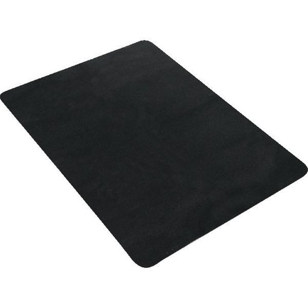 tapis de coffre voiture 80x100 cm textile noir feu vert. Black Bedroom Furniture Sets. Home Design Ideas