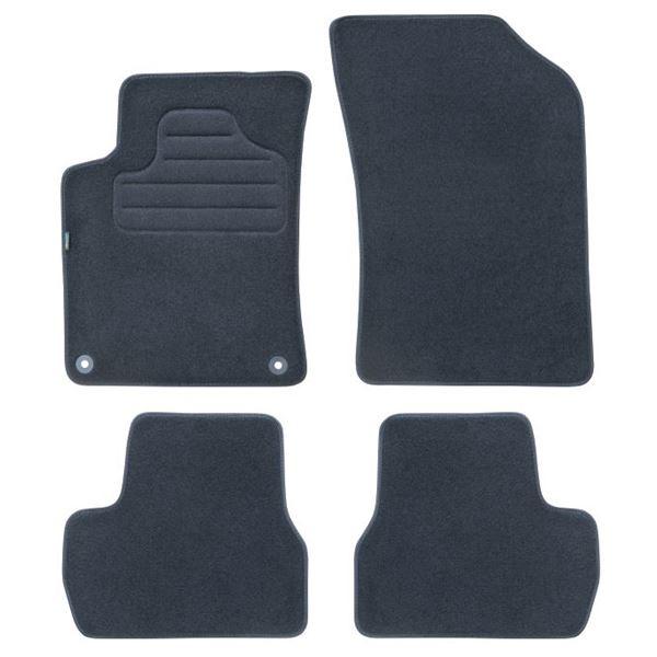 4 tapis sur mesure pour citro n c3 version 2 ds3 feu vert feu vert. Black Bedroom Furniture Sets. Home Design Ideas