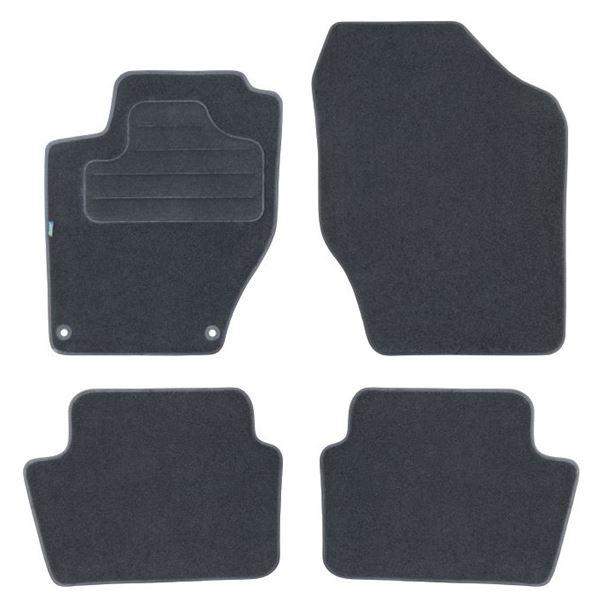 4 tapis sur mesure pour citro n c4 version 2 ds4 feu vert feu vert. Black Bedroom Furniture Sets. Home Design Ideas