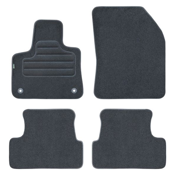 4 tapis sur mesure feu vert pour peugeot 3008 ii feu vert. Black Bedroom Furniture Sets. Home Design Ideas