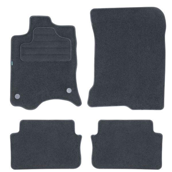 4 tapis sur mesure pour renault laguna version 3 feu vert feu vert. Black Bedroom Furniture Sets. Home Design Ideas