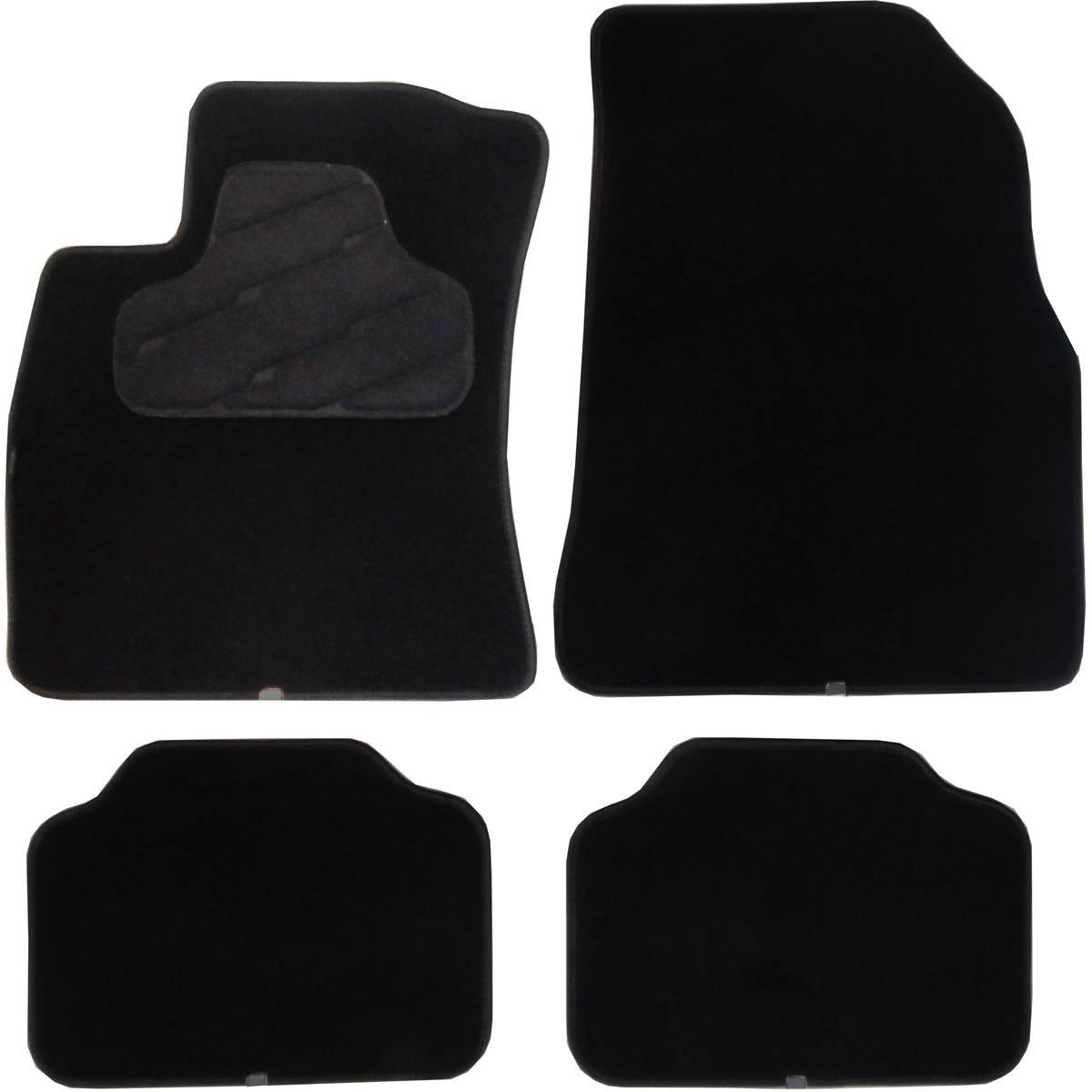 4 tapis de voiture adapt s constructeur pour v hicules fiat feu vert. Black Bedroom Furniture Sets. Home Design Ideas