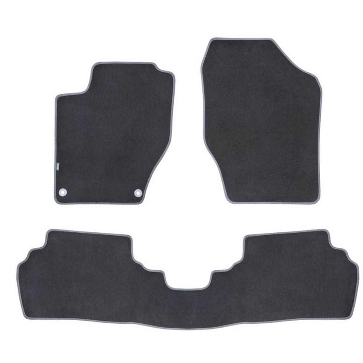 3 tapis de voiture moquette pour citro n c4 version 2 ds4 feu vert premium. Black Bedroom Furniture Sets. Home Design Ideas