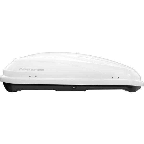 coffre de toit feu vert premium evospace 400dx blanc feu vert. Black Bedroom Furniture Sets. Home Design Ideas