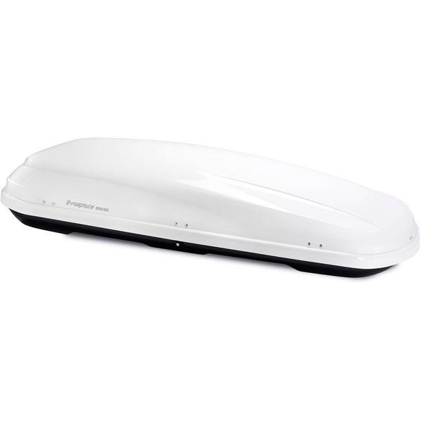 coffre de toit feu vert premium evospace 600dx blanc feu. Black Bedroom Furniture Sets. Home Design Ideas