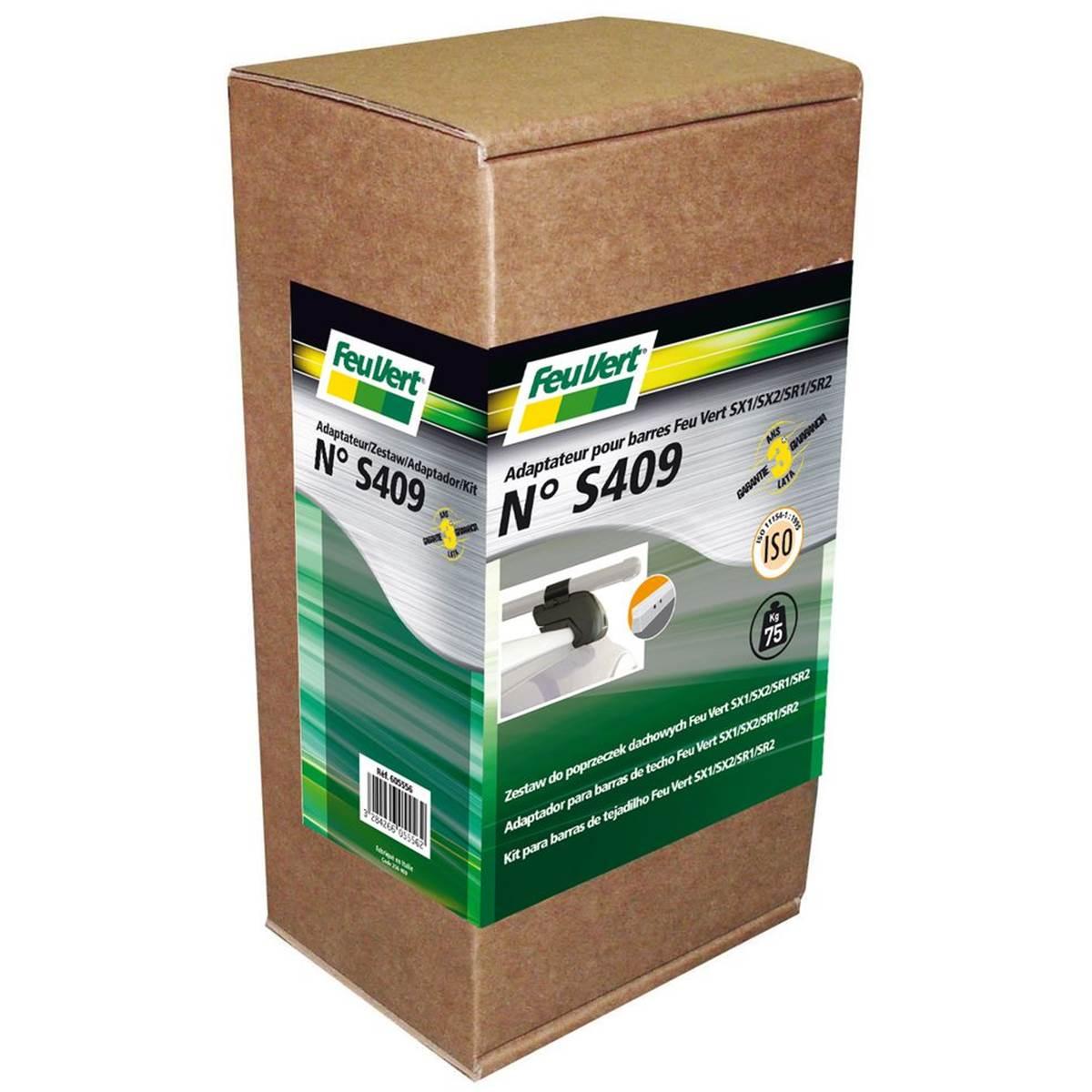 Kit S409 pour barre FEU VERT railing