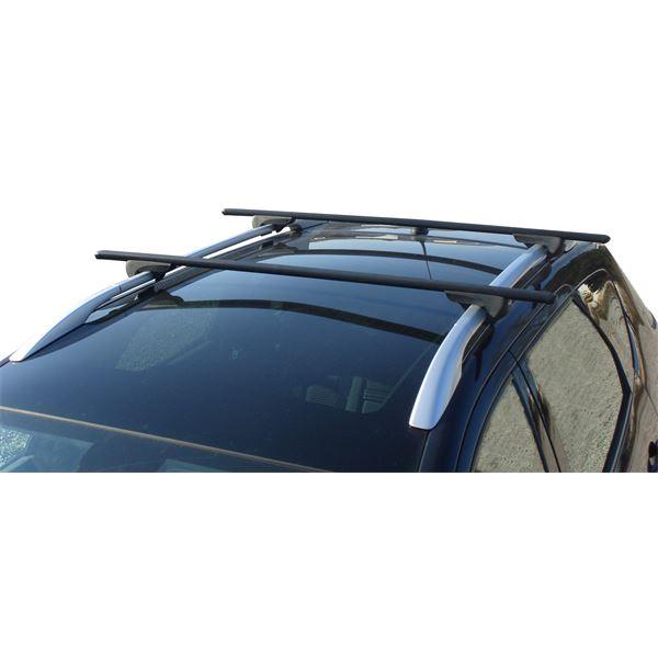 barres de toit pr mont es railing acier rs115 feu vert. Black Bedroom Furniture Sets. Home Design Ideas