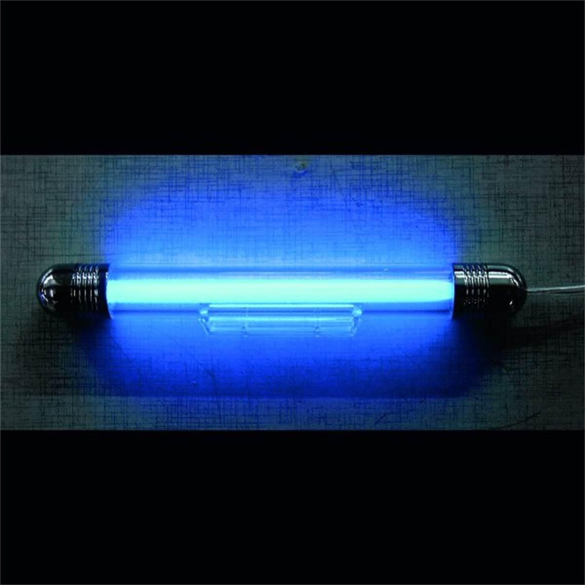 eclairage tubes bleu. Black Bedroom Furniture Sets. Home Design Ideas