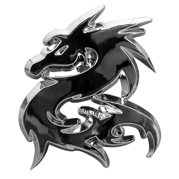 sticker carrosserie embl me chrom dragon cadox feu vert. Black Bedroom Furniture Sets. Home Design Ideas
