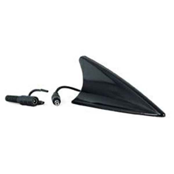 antenne shark radio am fm fonctionnelle noire feu vert. Black Bedroom Furniture Sets. Home Design Ideas