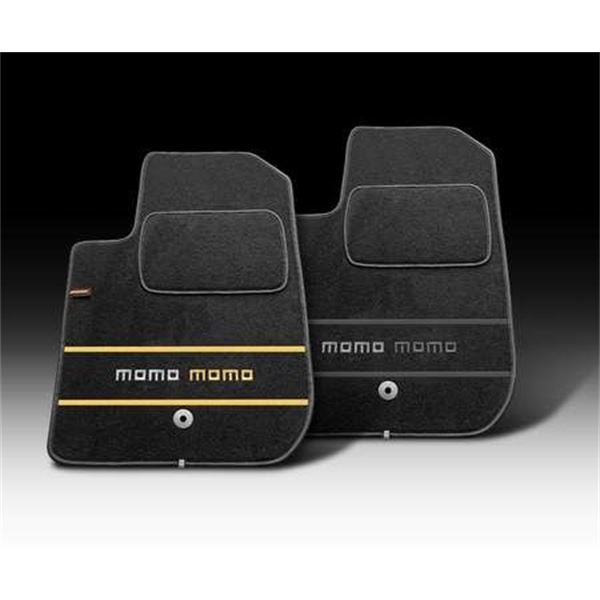 tapis de sol voiture momo m2 noir taille c feu vert. Black Bedroom Furniture Sets. Home Design Ideas
