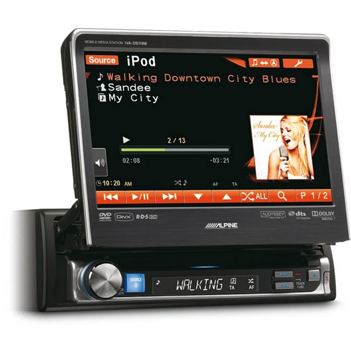 Autoradio multimédia Alpine IVA-D511R