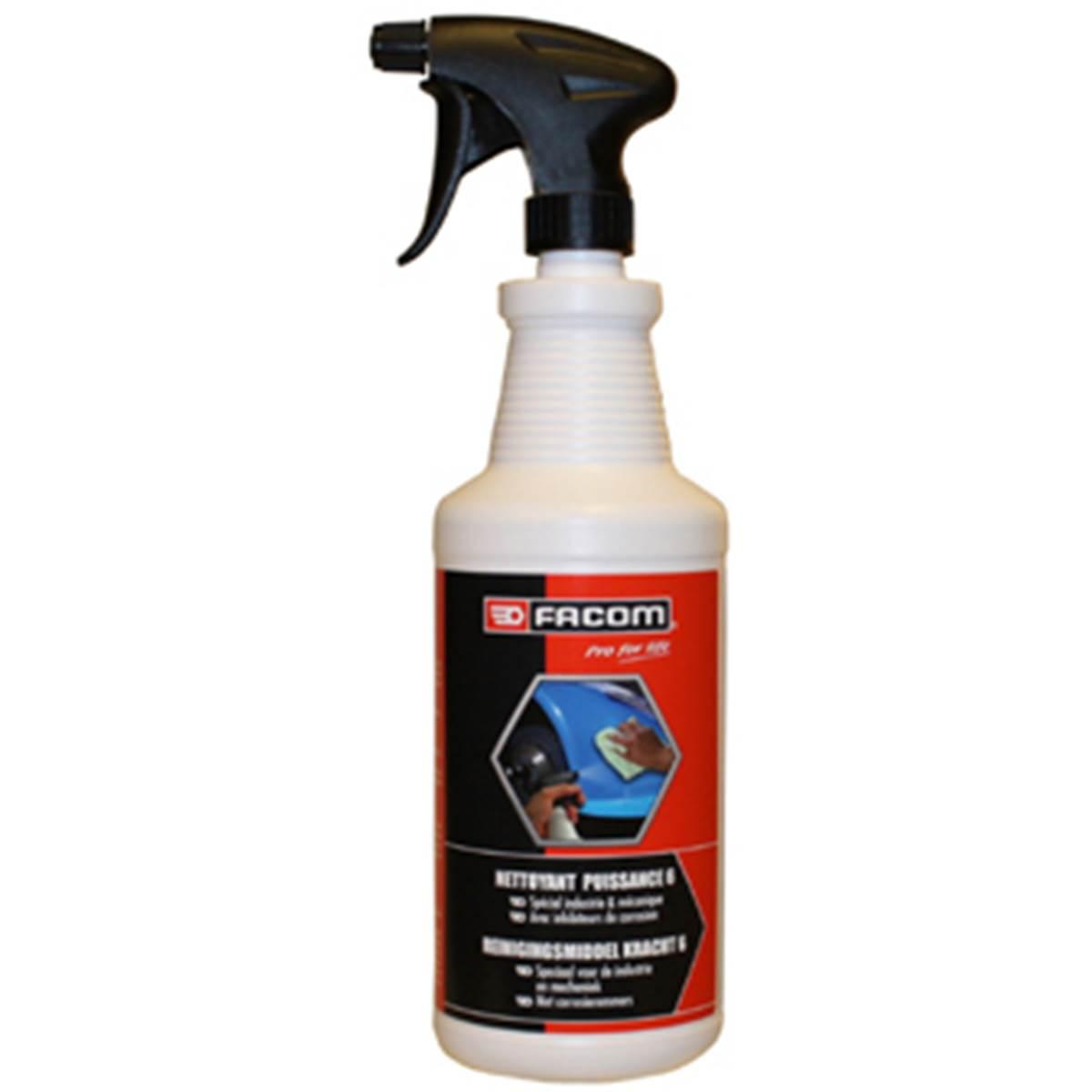 Nettoyant Puissance 6 1L FACOM en pulvérisateur