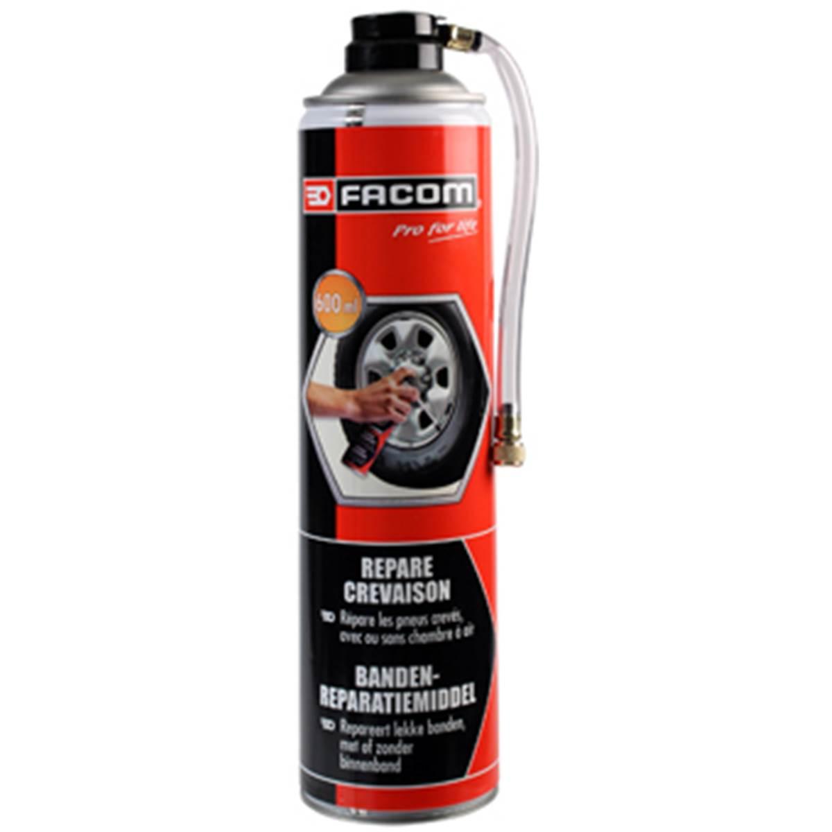 Bombe anti crevaison Facom 600 ml