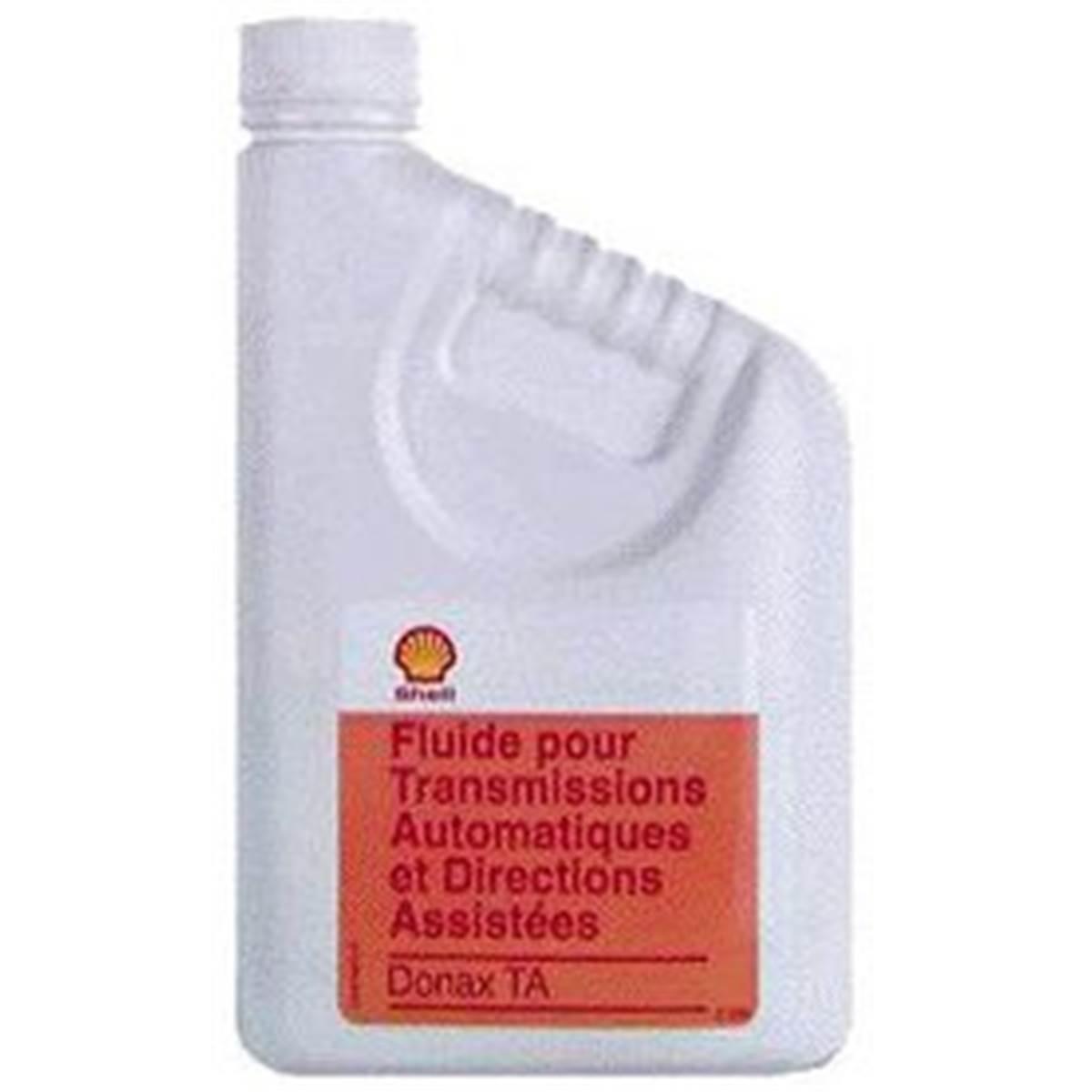 Lubrifiant Shell pour transmissions automatiques et directions assistées