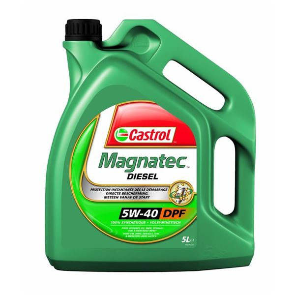 huile de synth se moteur castrol magnatec diesel 5w40 b4 5l feu vert. Black Bedroom Furniture Sets. Home Design Ideas