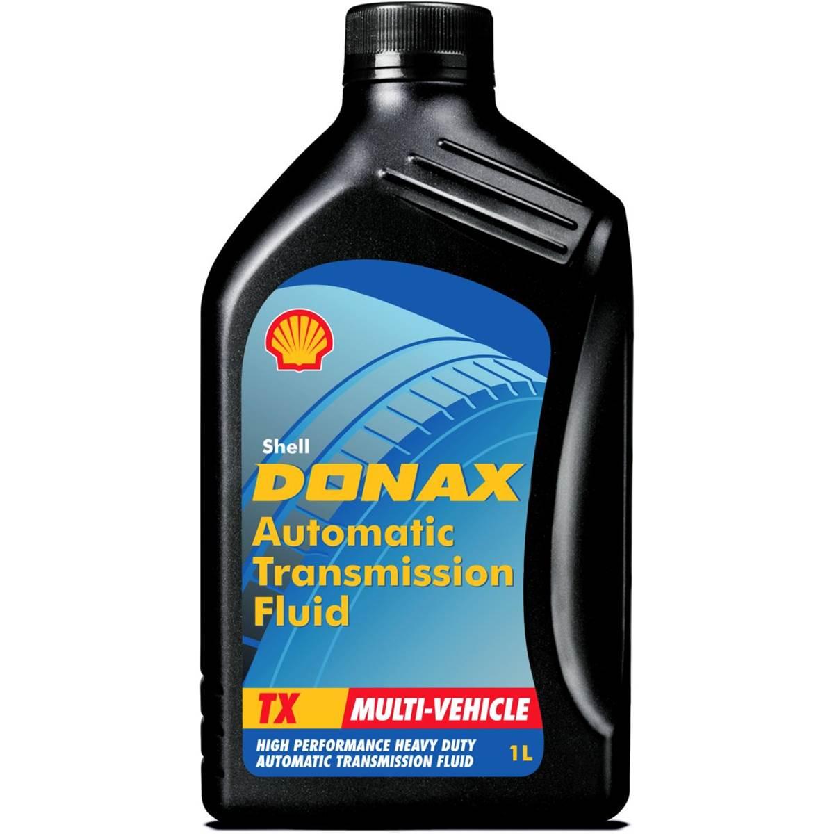 Fluide de transmission Shell Donax TX DEXRON 3 B/P 1L