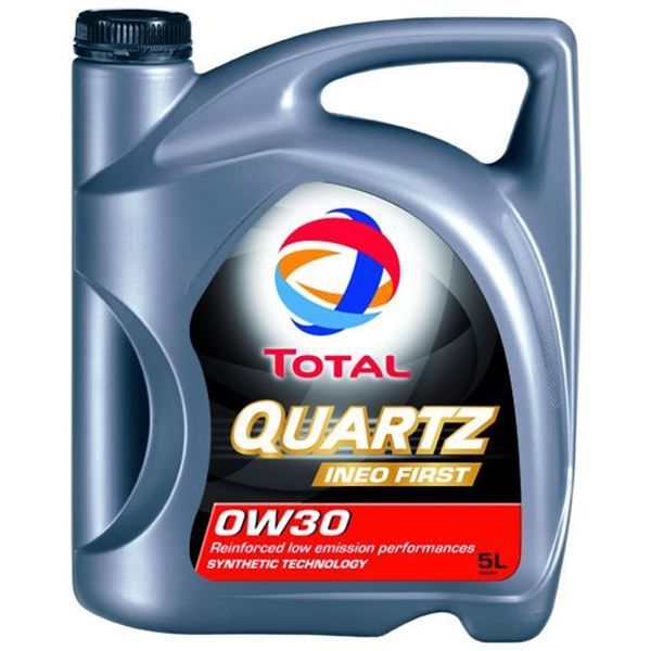 huile moteur total quartz ineo first essence diesel 0w30 5l feu vert